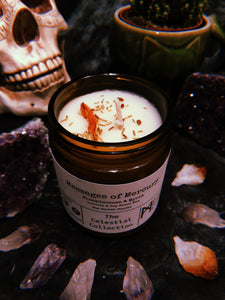Messages of Mercury Herbal Candle