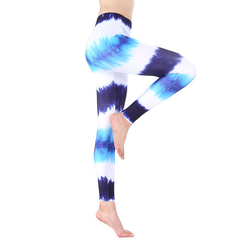 Sport Fitness Yoga Pants Colorful -  Sportswear - Workout