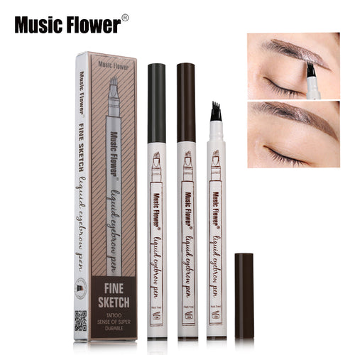 1pc Eyebrow  Pencil Waterproof  Brown BRZ