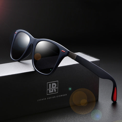 HD Polarized Sunglasses Unisex- Square Frame Braz  UV400