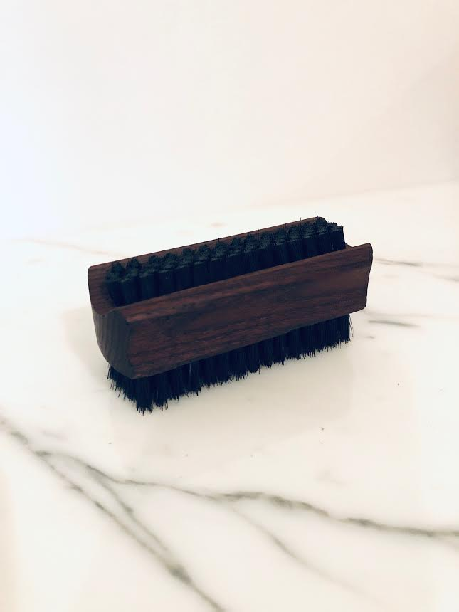 Nail Brush - Thermo Treated Ash Soap and Water
