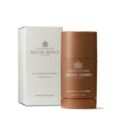 Molton Brown Re-Charge Black Pepper Deodorant Stick 75 gm - NEW! Molton Brown