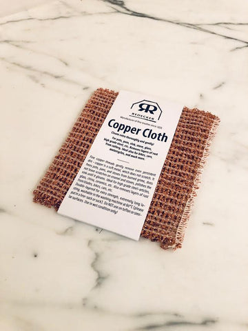 Copper Cloths - Set of 2 Soap and Water