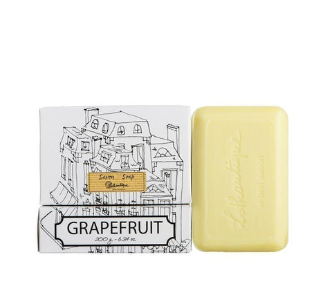 Lothantique Bar Soap - Grapefruit 200 gm www.soapandwatereveryday.com