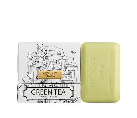 Lothantique Bar Soap - Green Tea 200 gm www.soapandwatereveryday.com