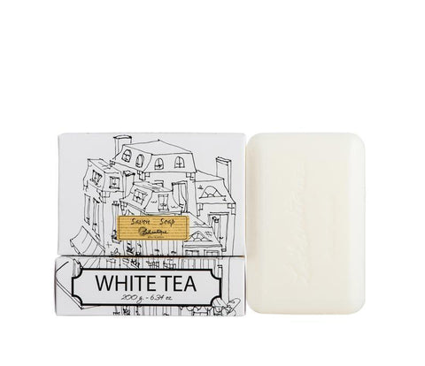 Lothantique Bar Soap - White Tea 200 gm www.soapandwatereveryday.com