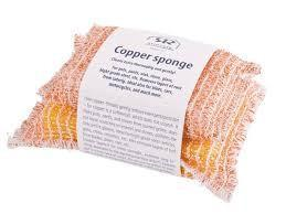 Copper Sponge - Set of 2 www.soapandwatereveryday.com