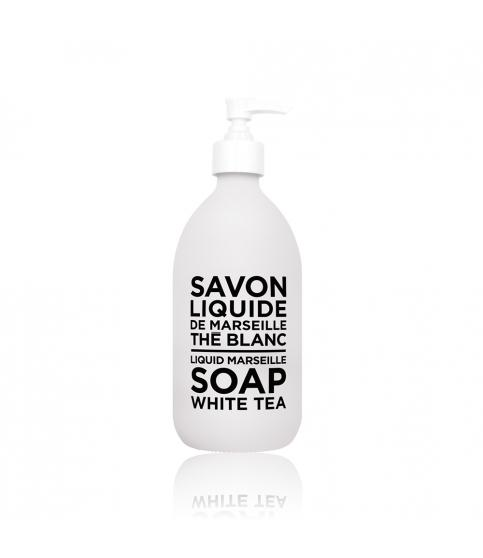 Compagnie de Provence Liquid Soap- White Tea 500 ml www.soapandwatereveryday.com