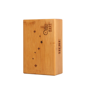 Yoga block bamboo - Bamboo support block
