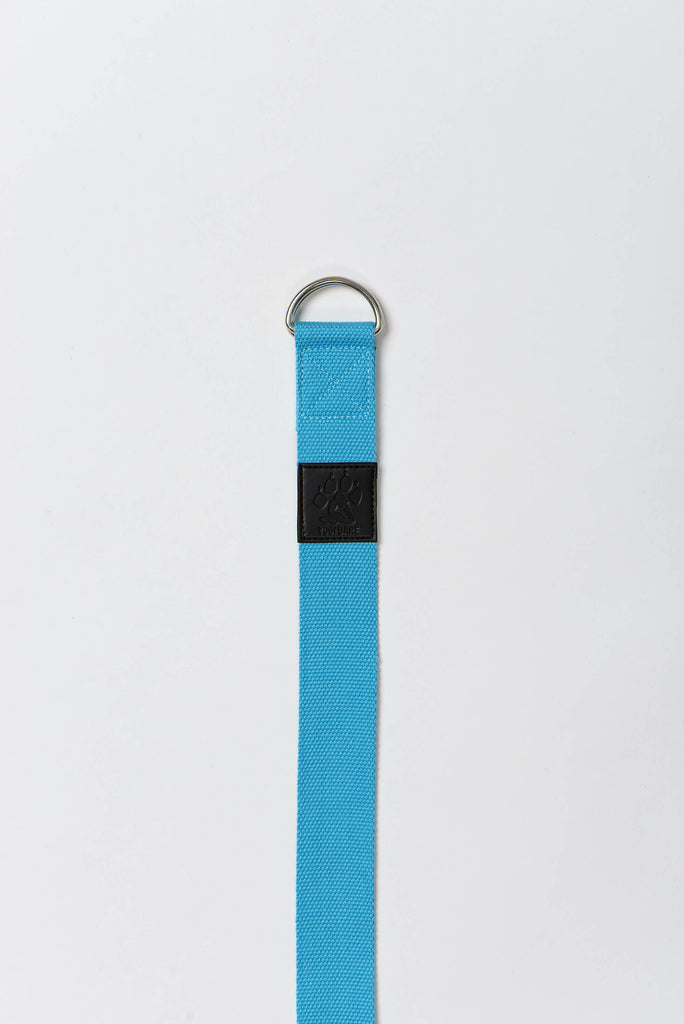 Yogi Bare® Yoga Stretching Strap Blue-Yoga Strap-Yogi Bare