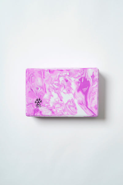 Yogi Bare® Yoga Block - Firm Foam Support Block - PURPLE-Yoga Block-Yogi Bare