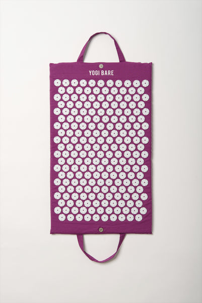 Yogi Bare® Acupressure Mat Purple – Bed of Nails for Massage and Relaxation