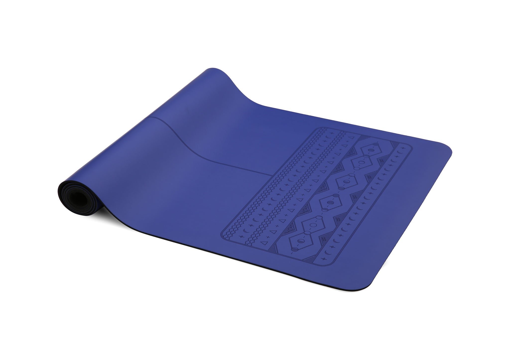 Lunar Paws - Natural rubber extreme grip yoga mat blue