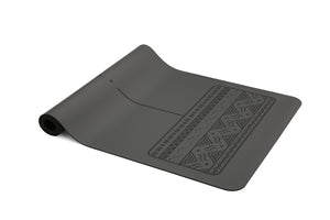 Paws - Natural rubber extreme grip yoga mat grey
