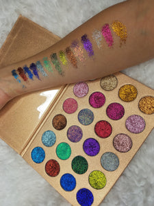 Holy Grail glitter eyeshadow palette