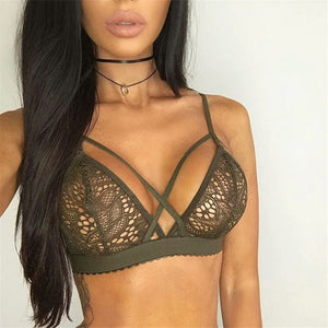 Strappy bralette 3 color options