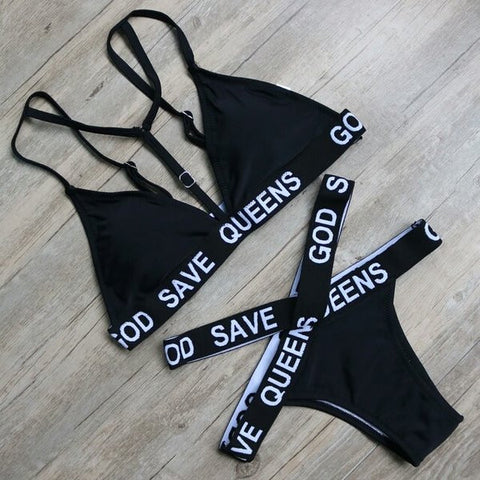 Save the queens bikini