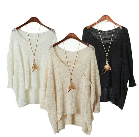 Light knit Sweater 3 color options