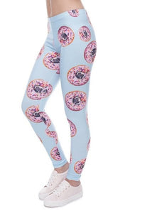 Donut Ask Questions Leggings