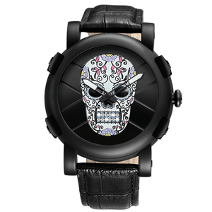 Sugar Skull Watch watch The Mighty Skull ™ Colorful