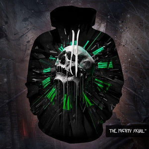 Time For Skull Hoodies hoodies The Mighty Skull ™ 4XL