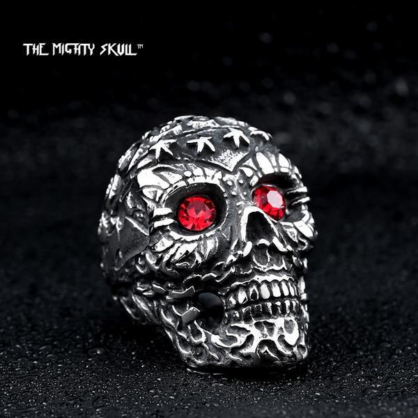 Punk Skull Ring ring The Mighty Skull ™