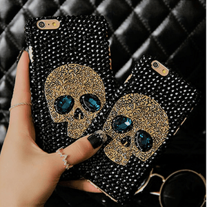 Rhinestone Bling Skull Phone Case Phone Case The Mighty Skull ™ iPhone 6