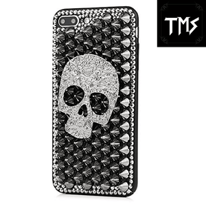 Skull Spiky iPhone Cases Phone Case The Mighty Skull ™