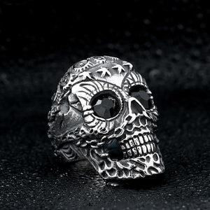 Punk Skull Ring ring The Mighty Skull ™ 7 black eye
