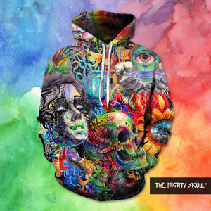 Psychodal Skull Hoodies hoodies The Mighty Skull ™ 4XL