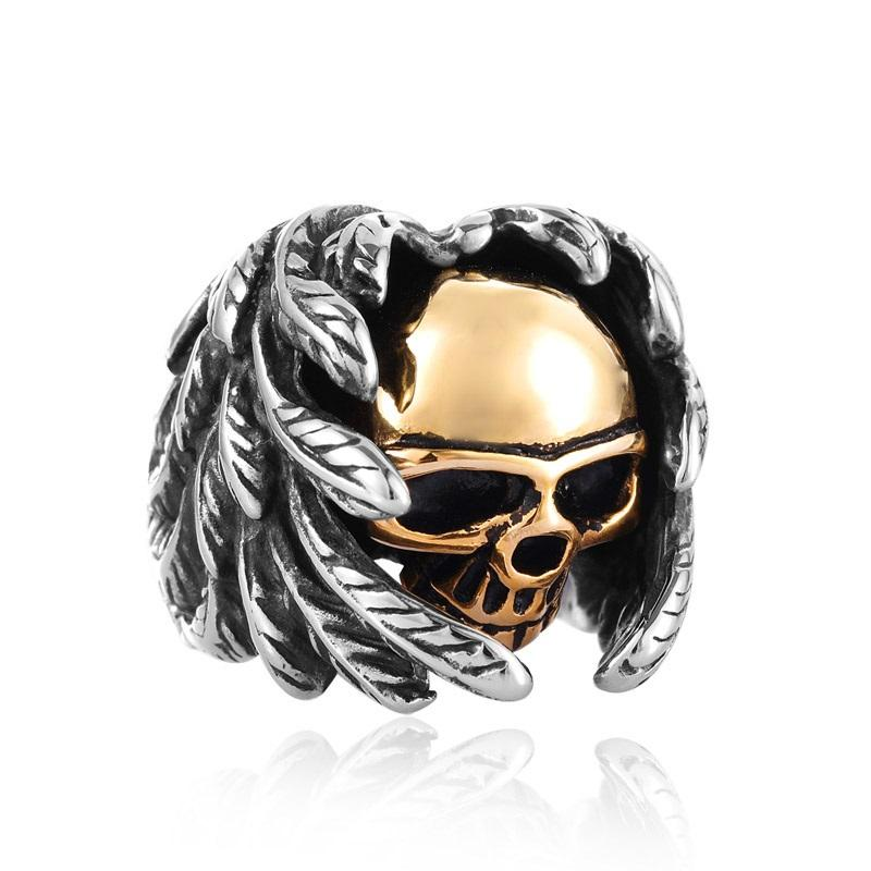 Protecting Skull Ring ring The Mighty Skull ™