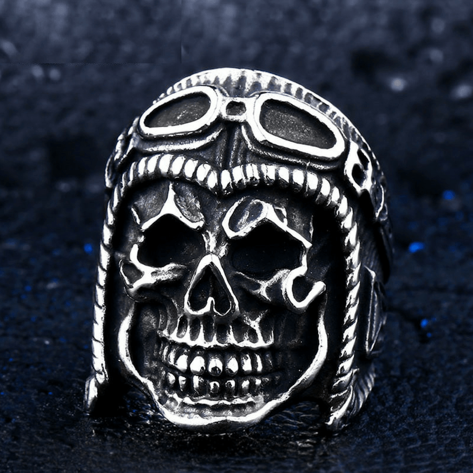 Skull Biker Ring ring The Mighty Skull ™