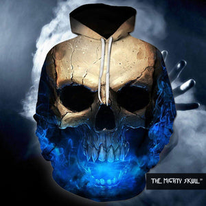 Dark Skull Hoodies hoodies The Mighty Skull ™ 4XL