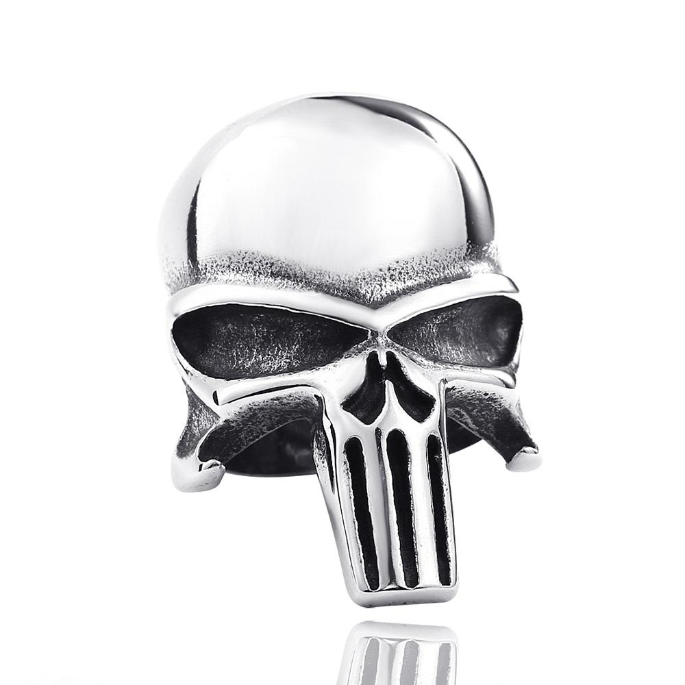 Skull punisher Ring ring The Mighty Skull ™ 6.5 CLEAR