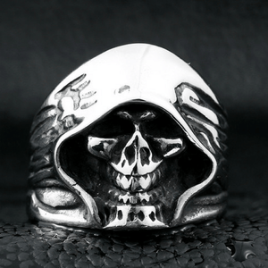 Death Skull Ring ring The Mighty Skull ™ 7 silver colour