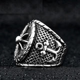 Punk Anchor Ring ring The Mighty Skull ™