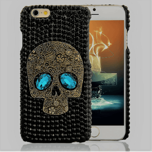 Rhinestone Bling Skull Phone Case Phone Case The Mighty Skull ™ Samsung S8 Plus