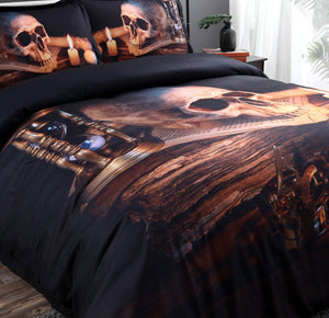Night Flame Bedding set bedding set The Mighty Skull ™