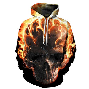 Fire Skull skull The Mighty Skull ™