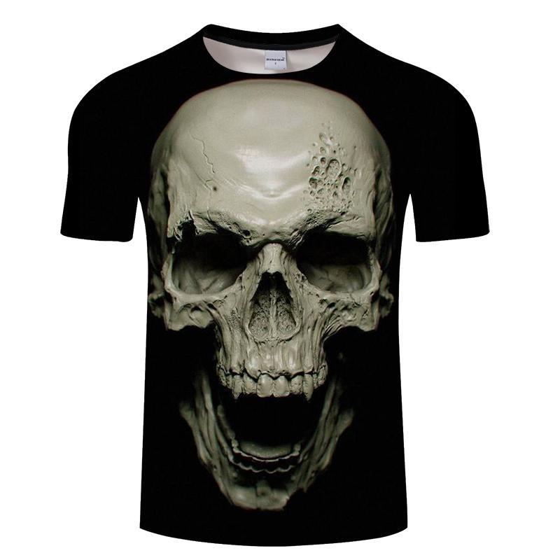 Crazy Skull 3D T Shirt t shirt The Mighty Skull ™