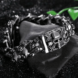 Heavy Punk Skull Bracelet bracelet The Mighty Skull ™