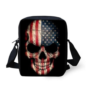 Skull Messenger Bag bag The Mighty Skull ™ 5089E