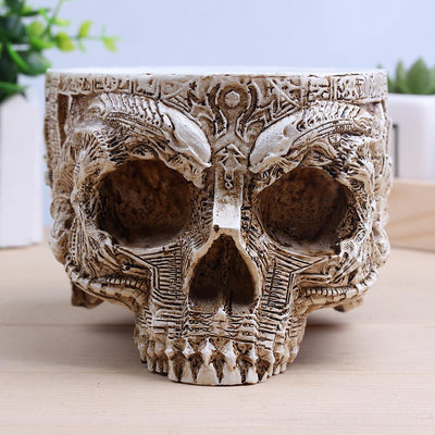 Gothic Skull Planter - The Mighty Skull ™
