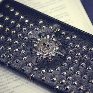 Goth Wallet wallet The Mighty Skull ™