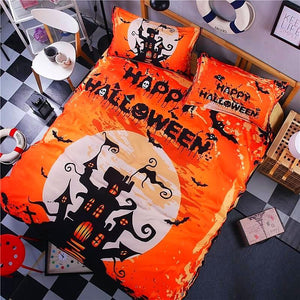 Halloween Bedding Set bedding set The Mighty Skull ™ halloween day Full