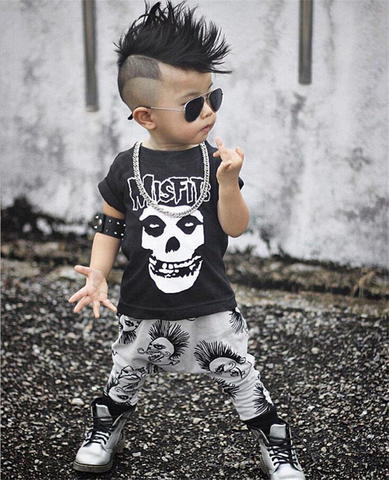 Badass Baby outfit baby outfit The Mighty Skull ™