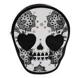 Skull Floral Bag bag The Mighty Skull ™ Default Title