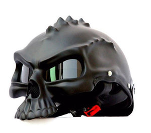 Spiky Skull Helmet The Mighty Skull ™ Matte Black M
