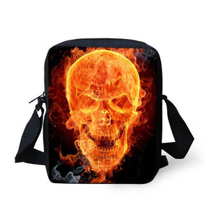 Skull Messenger Bag bag The Mighty Skull ™ 3132E
