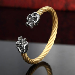 Stainless Steel Bracelet Skull Bracelet bracelet The Mighty Skull ™